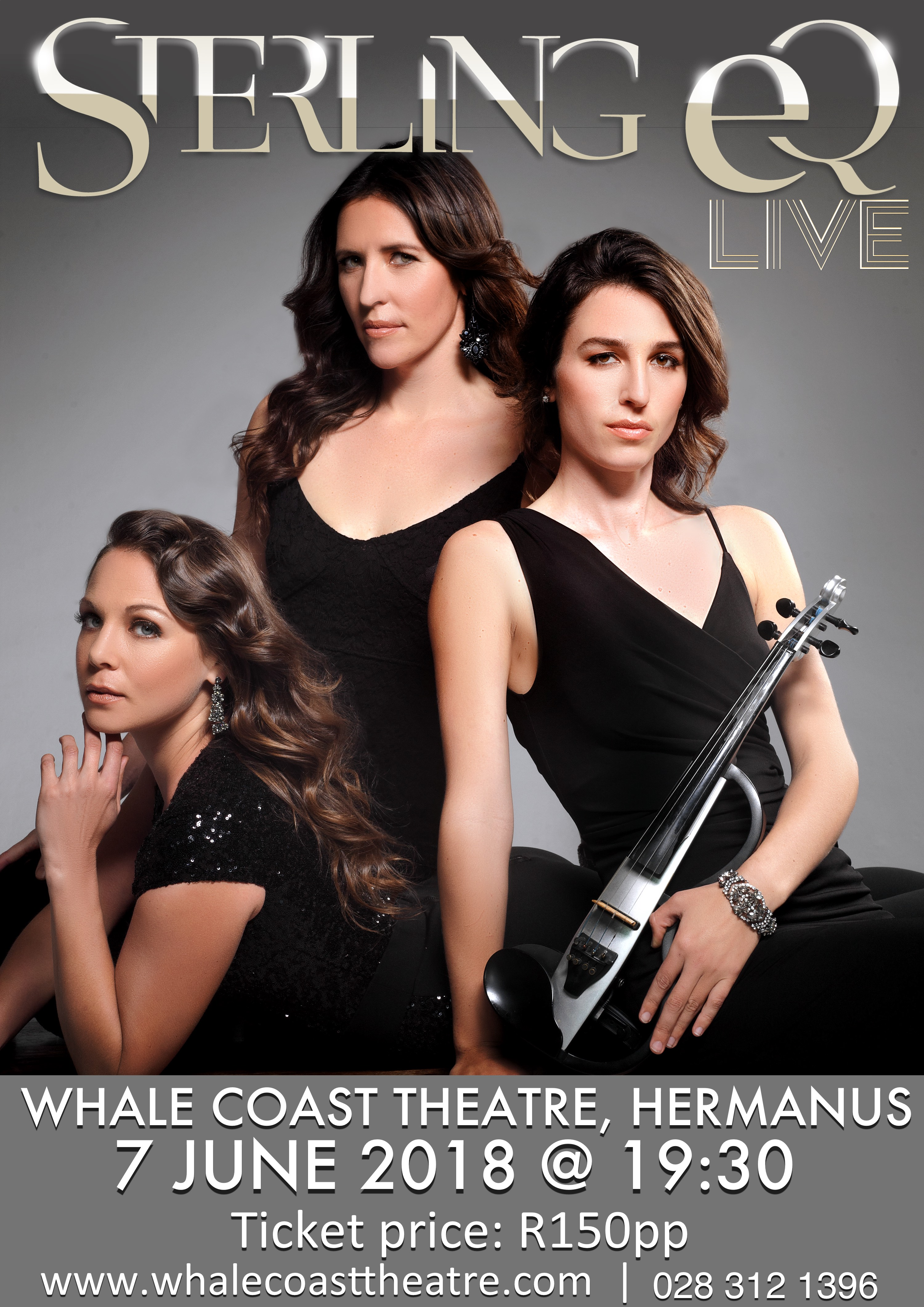 Sterling EQ Live at the Whale Coast Theatre, Hermanus